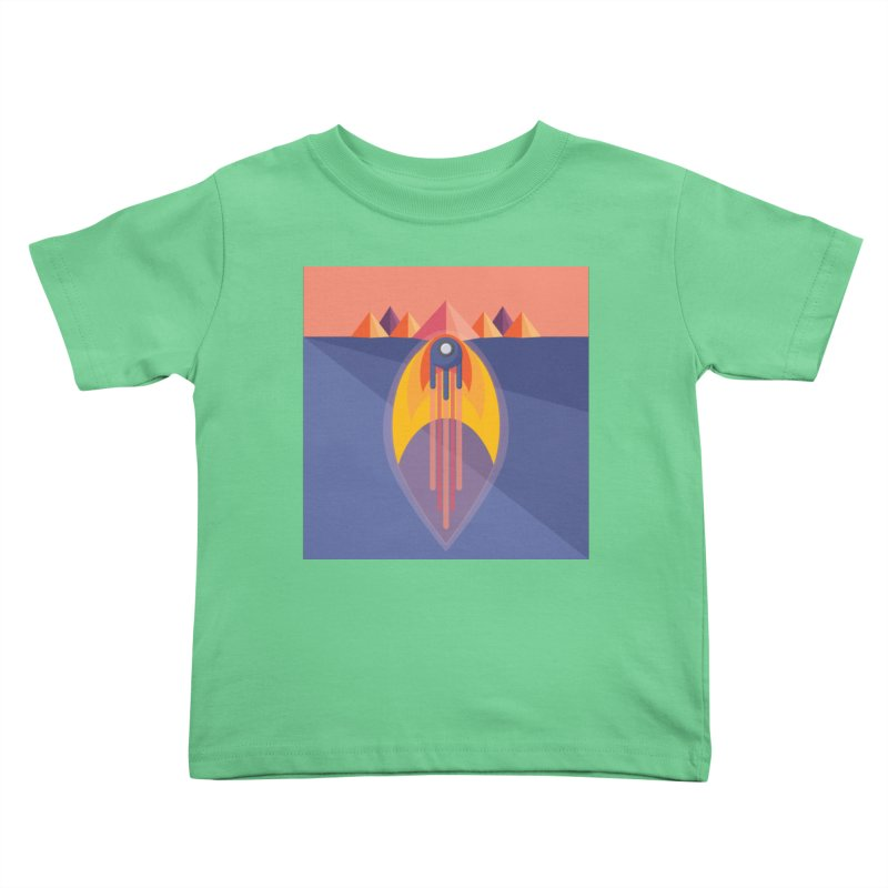 Take to the Skies Kids Toddler T-Shirt by jaredslyterdesign's Artist Shop