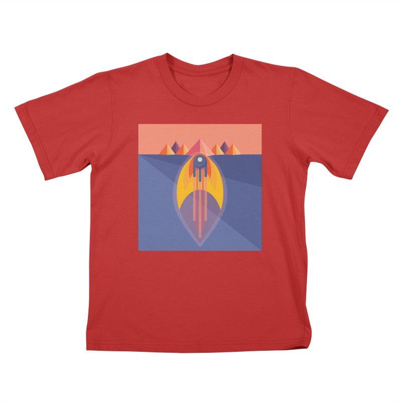 Take to the Skies Kids T-Shirt by jaredslyterdesign's Artist Shop