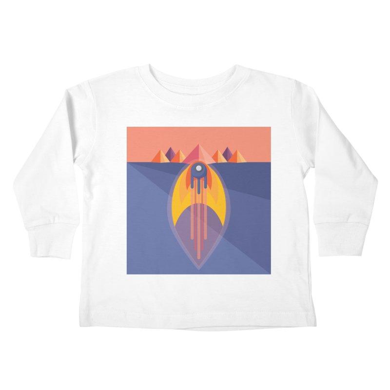 Take to the Skies Kids Toddler Longsleeve T-Shirt by jaredslyterdesign's Artist Shop
