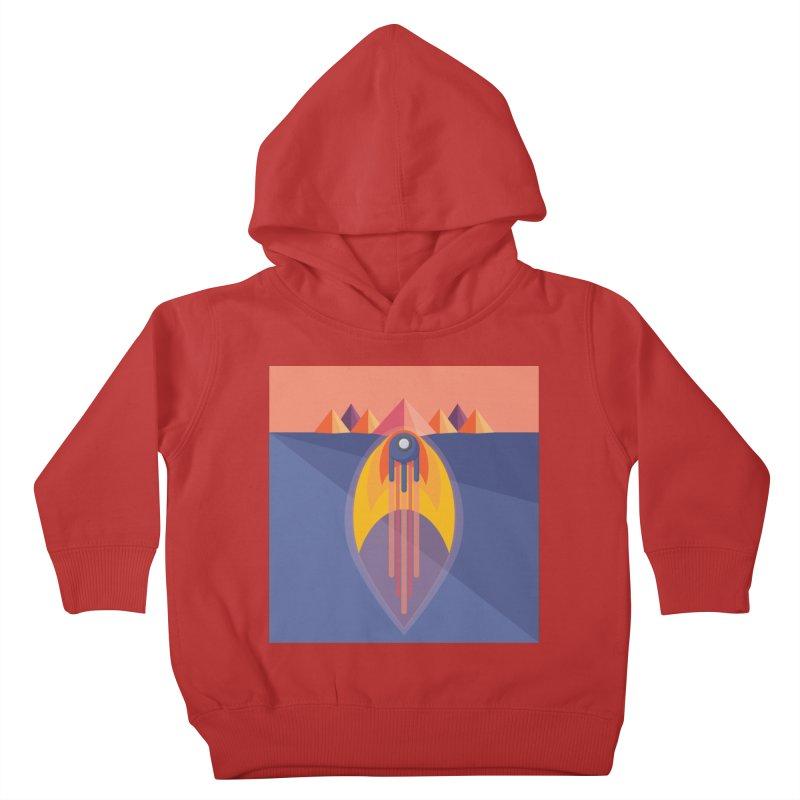 Take to the Skies Kids Toddler Pullover Hoody by jaredslyterdesign's Artist Shop