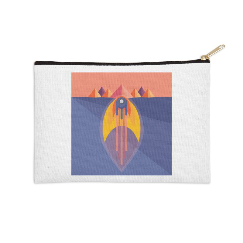 Take to the Skies Accessories Zip Pouch by jaredslyterdesign's Artist Shop