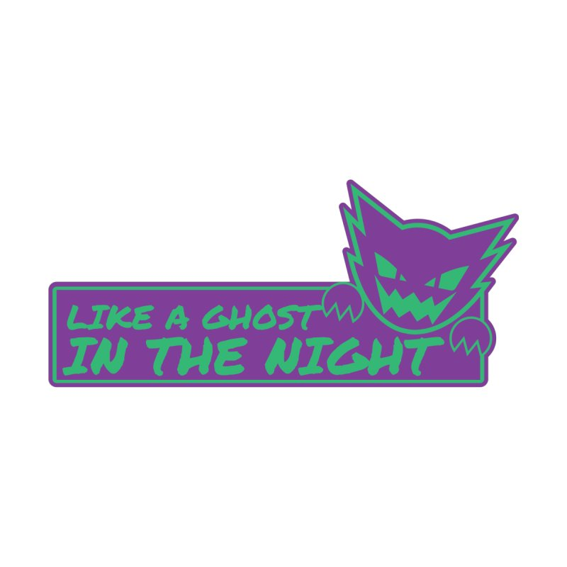 Haunter Like a Ghost in the Night None  by jaredslyterdesign's Artist Shop