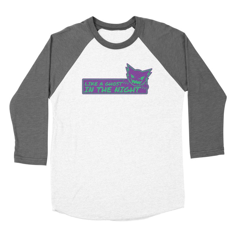 Haunter Like a Ghost in the Night Women's Longsleeve T-Shirt by jaredslyterdesign's Artist Shop
