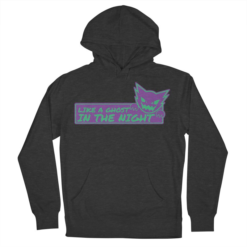 Haunter Like a Ghost in the Night Women's French Terry Pullover Hoody by jaredslyterdesign's Artist Shop