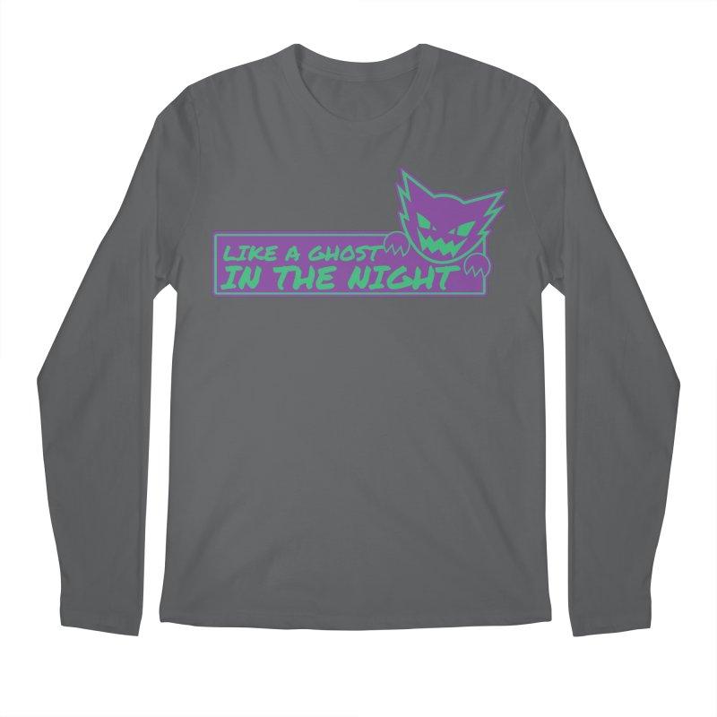 Haunter Like a Ghost in the Night Men's Regular Longsleeve T-Shirt by jaredslyterdesign's Artist Shop
