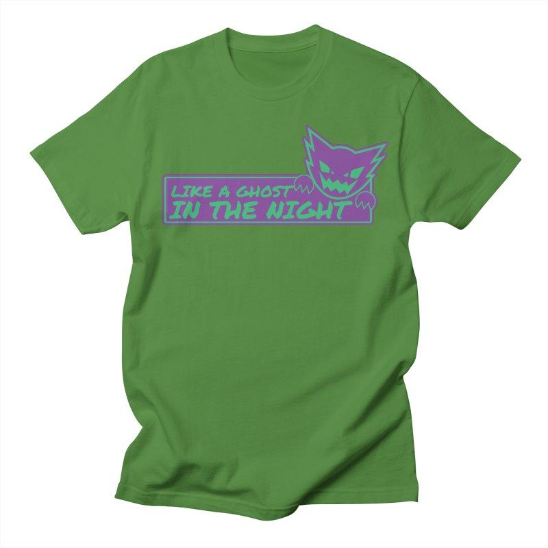 Haunter Like a Ghost in the Night Women's Regular Unisex T-Shirt by jaredslyterdesign's Artist Shop