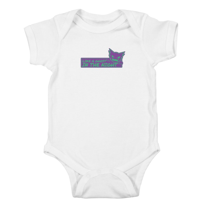 Haunter Like a Ghost in the Night Kids Baby Bodysuit by jaredslyterdesign's Artist Shop