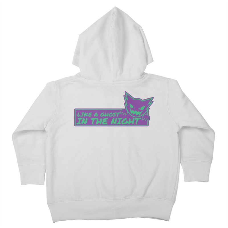 Haunter Like a Ghost in the Night Kids Toddler Zip-Up Hoody by jaredslyterdesign's Artist Shop