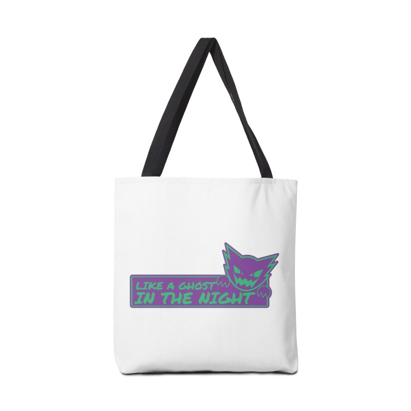 Haunter Like a Ghost in the Night Accessories Bag by jaredslyterdesign's Artist Shop