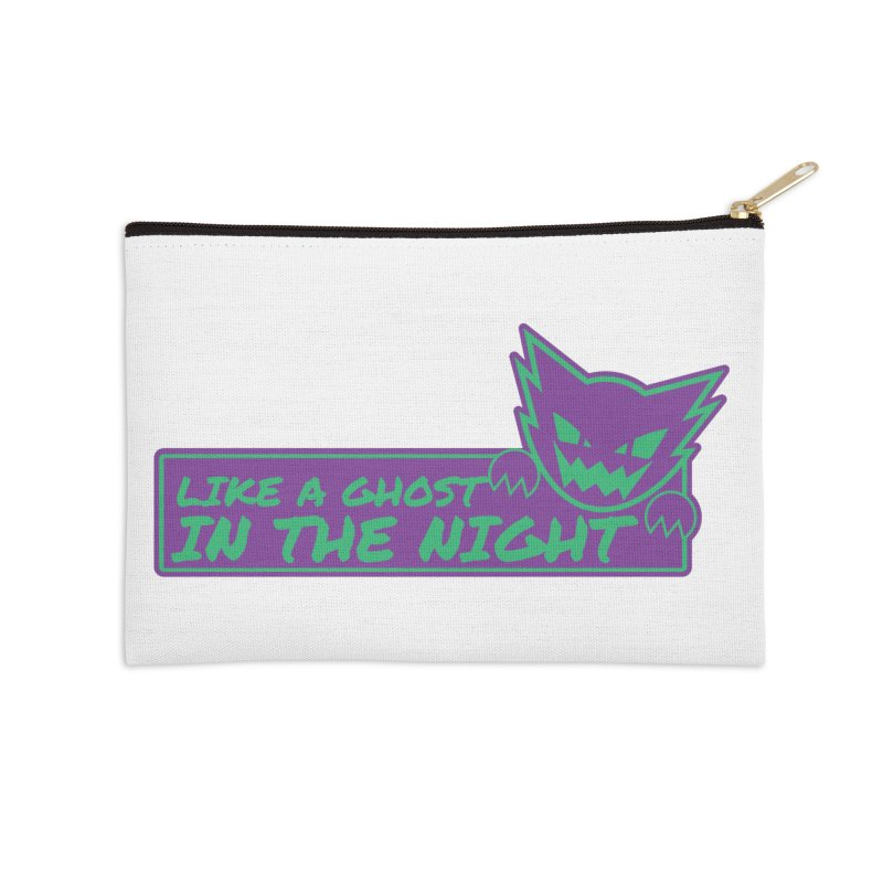 Haunter Like a Ghost in the Night Accessories Zip Pouch by jaredslyterdesign's Artist Shop