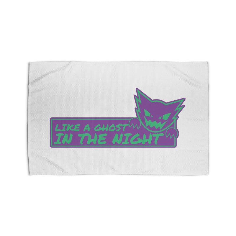 Haunter Like a Ghost in the Night Home Rug by jaredslyterdesign's Artist Shop