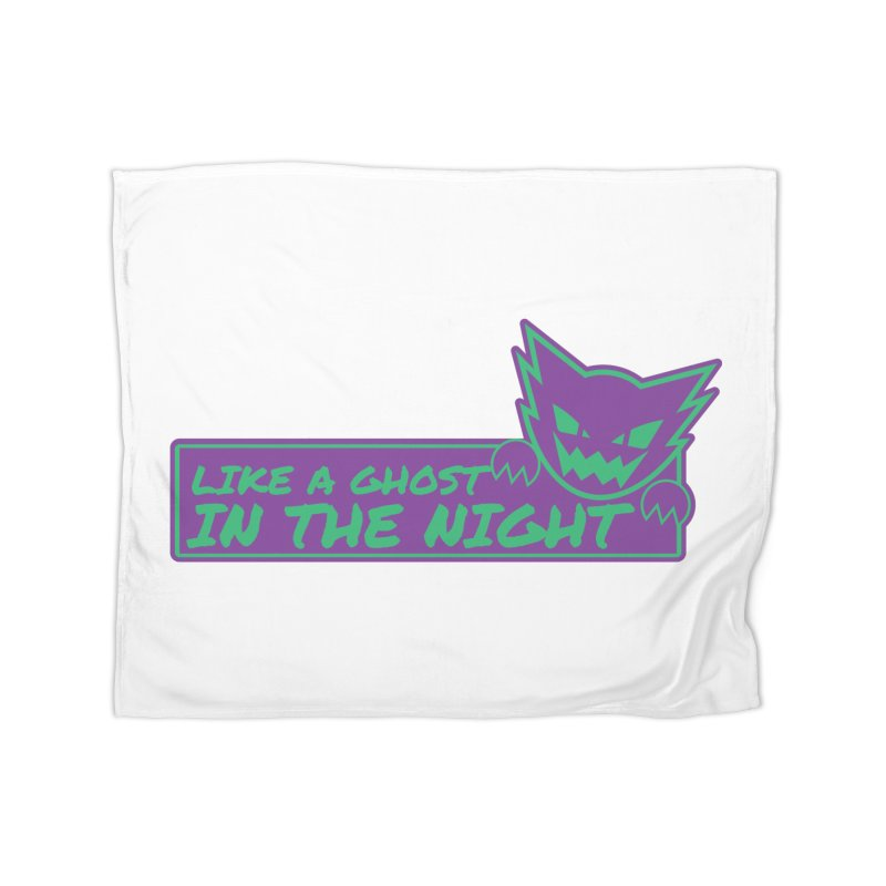 Haunter Like a Ghost in the Night Home Fleece Blanket Blanket by jaredslyterdesign's Artist Shop
