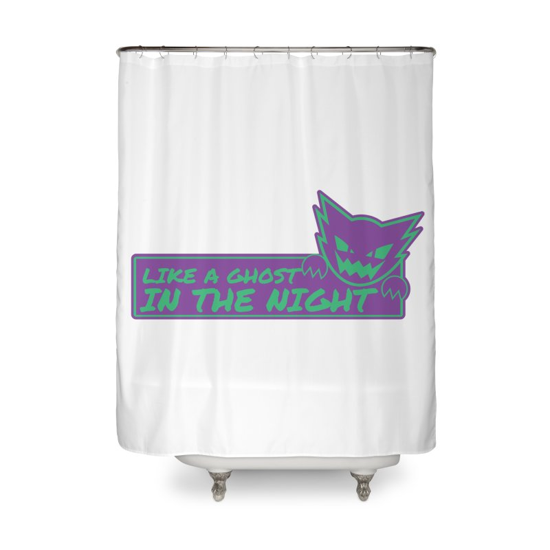 Haunter Like a Ghost in the Night Home Shower Curtain by jaredslyterdesign's Artist Shop