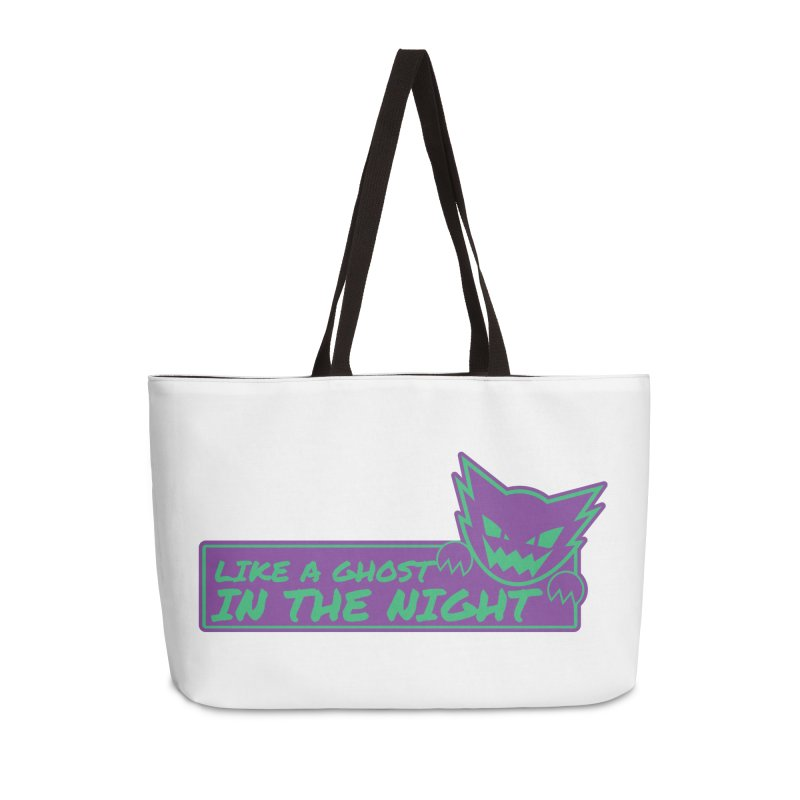 Haunter Like a Ghost in the Night Accessories Weekender Bag Bag by jaredslyterdesign's Artist Shop