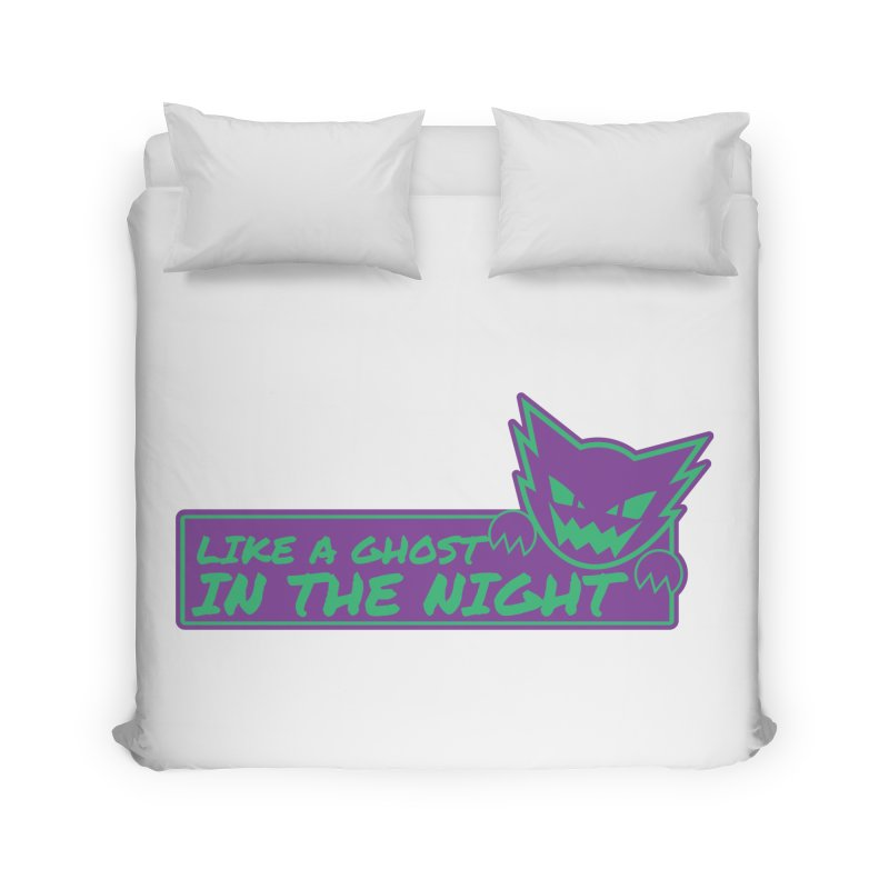 Haunter Like a Ghost in the Night Home Duvet by jaredslyterdesign's Artist Shop
