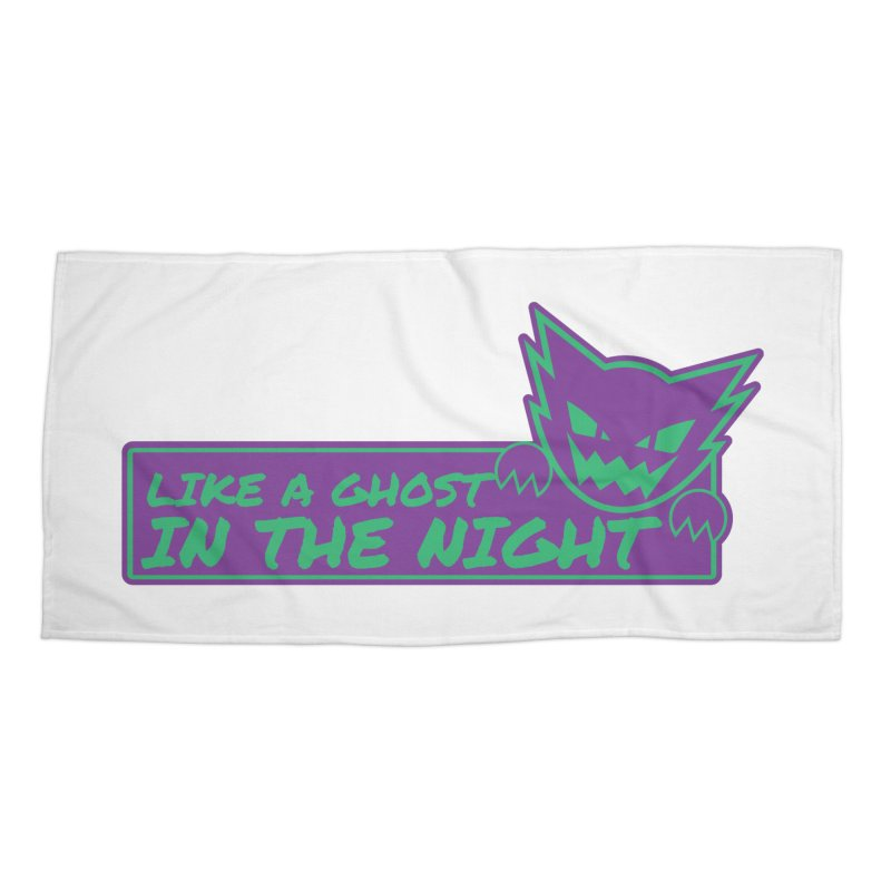 Haunter Like a Ghost in the Night Accessories Beach Towel by jaredslyterdesign's Artist Shop