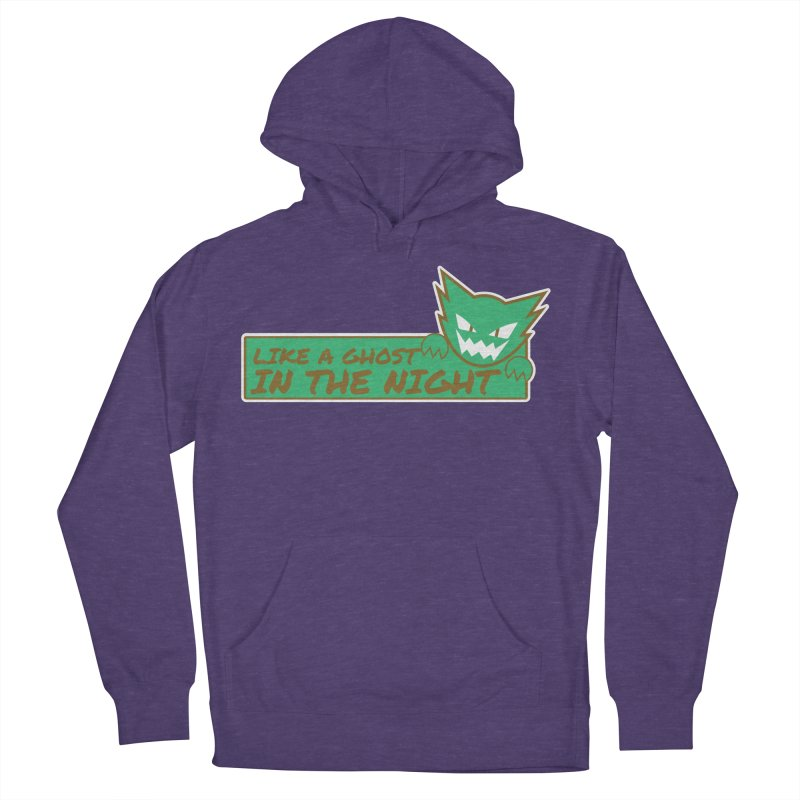Haunter - Like a Ghost in the Night Green and Gold Women's French Terry Pullover Hoody by jaredslyterdesign's Artist Shop