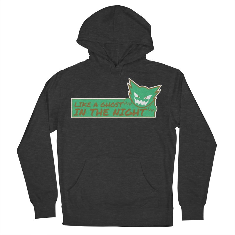 Haunter - Like a Ghost in the Night Green and Gold Men's Pullover Hoody by jaredslyterdesign's Artist Shop
