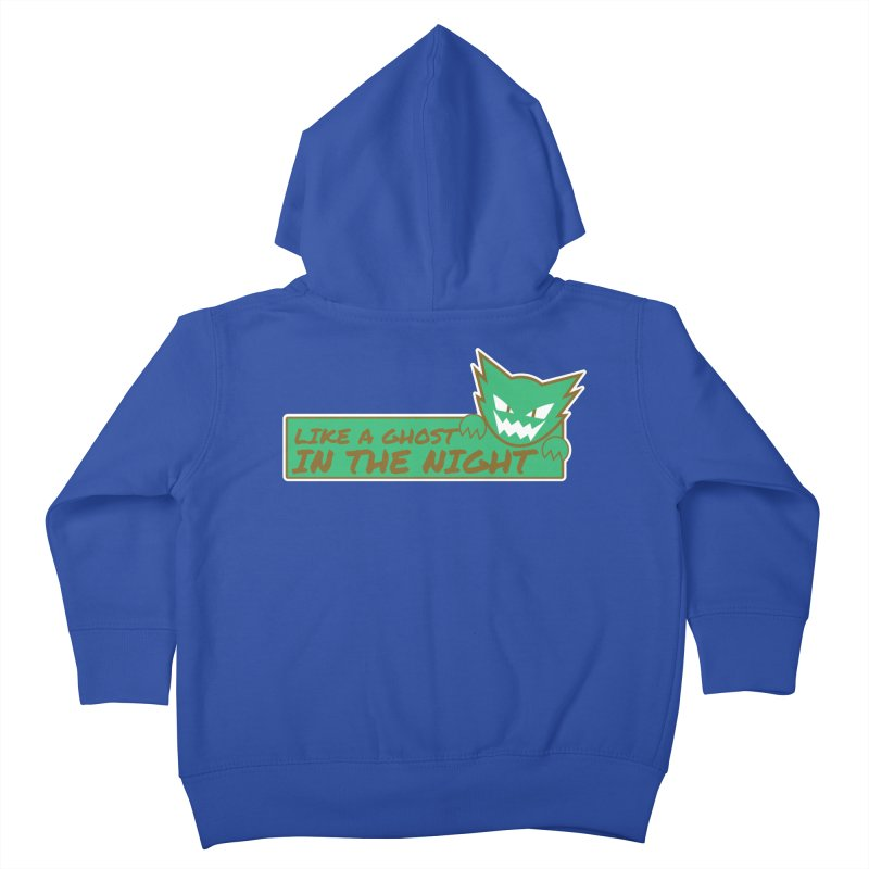 Haunter - Like a Ghost in the Night Green and Gold Kids Toddler Zip-Up Hoody by jaredslyterdesign's Artist Shop