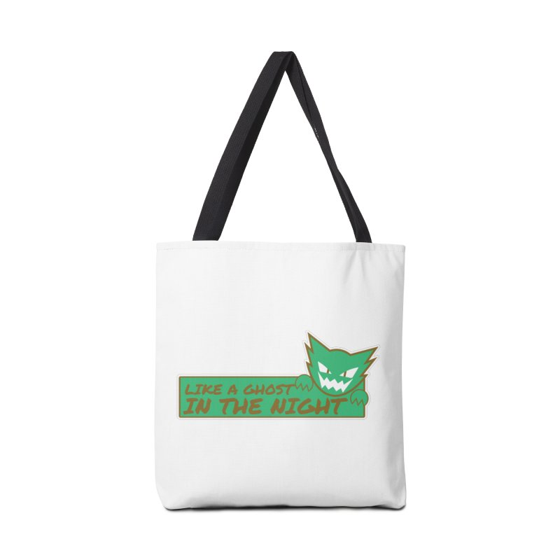 Haunter - Like a Ghost in the Night Green and Gold Accessories Bag by jaredslyterdesign's Artist Shop