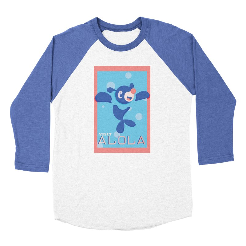 Visit Alola with Popplio ! Women's Baseball Triblend Longsleeve T-Shirt by jaredslyterdesign's Artist Shop