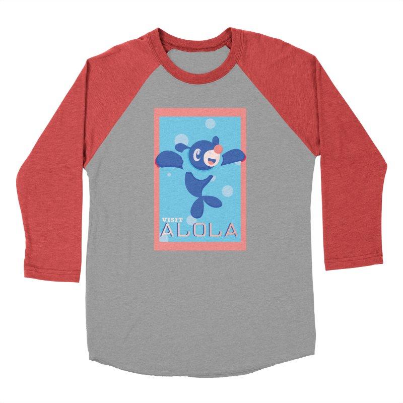Visit Alola with Popplio ! Men's Longsleeve T-Shirt by jaredslyterdesign's Artist Shop