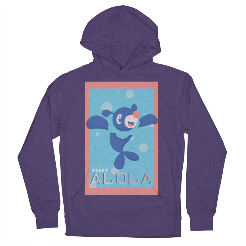 Visit Alola with Popplio ! Women's French Terry Pullover Hoody by jaredslyterdesign's Artist Shop