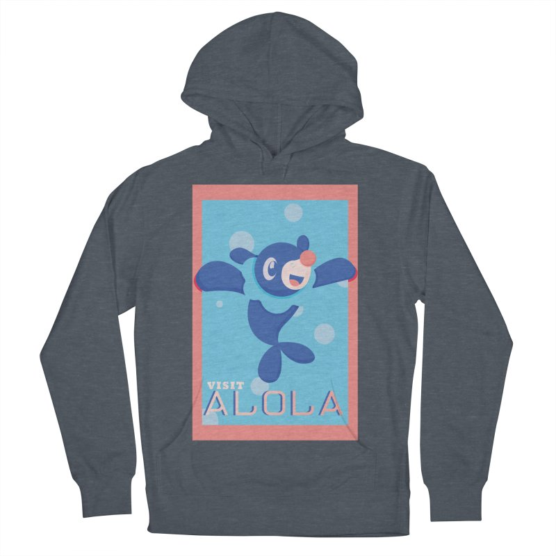 Visit Alola with Popplio ! Men's Pullover Hoody by jaredslyterdesign's Artist Shop