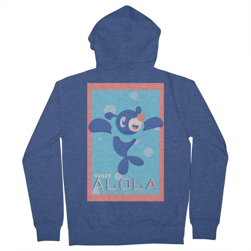 Visit Alola with Popplio ! Women's Zip-Up Hoody by jaredslyterdesign's Artist Shop