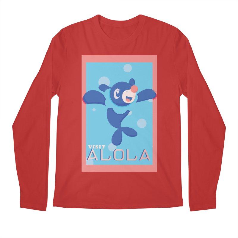 Visit Alola with Popplio ! Men's Regular Longsleeve T-Shirt by jaredslyterdesign's Artist Shop