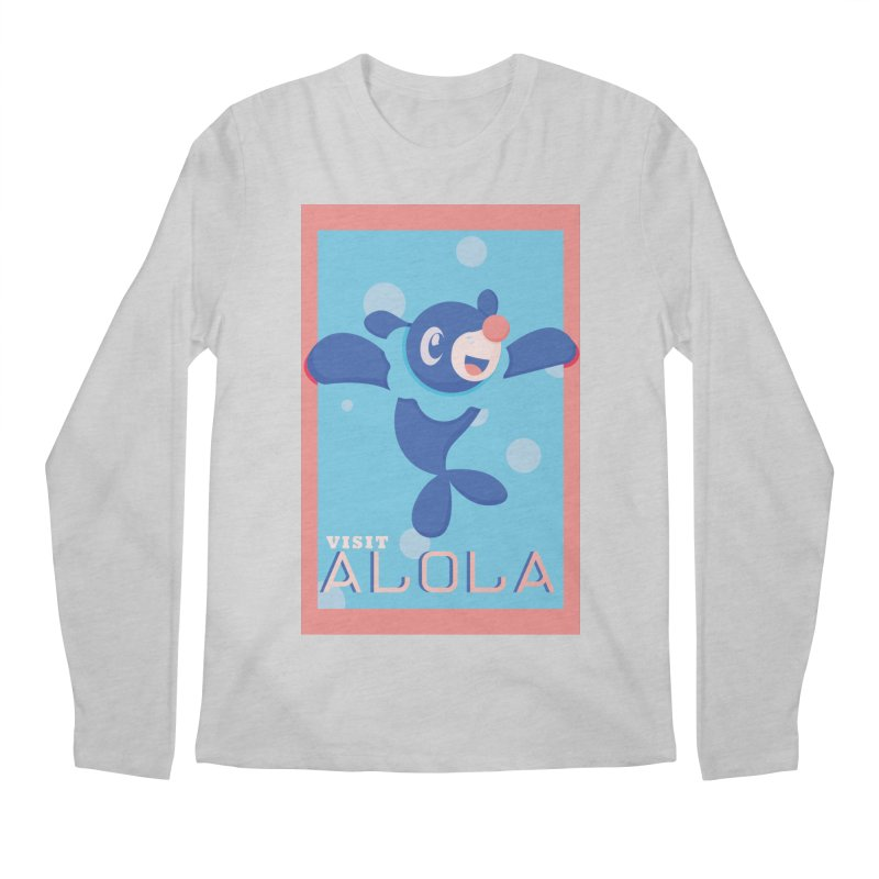 Visit Alola with Popplio ! Men's Longsleeve T-Shirt by jaredslyterdesign's Artist Shop