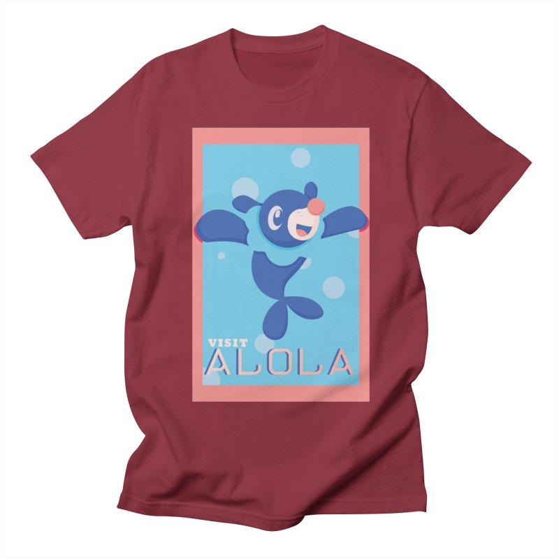 Visit Alola with Popplio ! Men's T-Shirt by jaredslyterdesign's Artist Shop