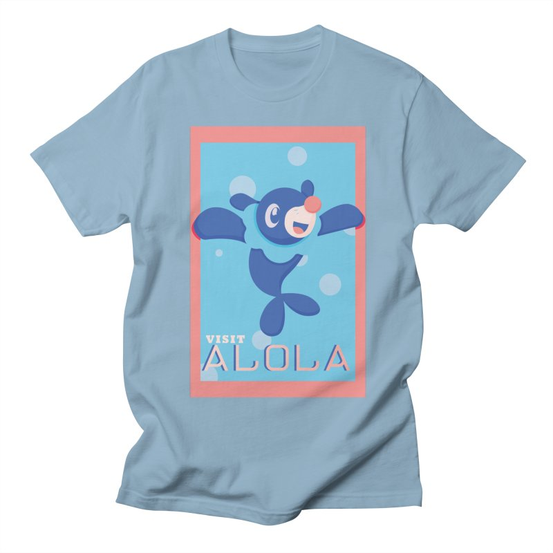 Visit Alola with Popplio ! Women's Regular Unisex T-Shirt by jaredslyterdesign's Artist Shop