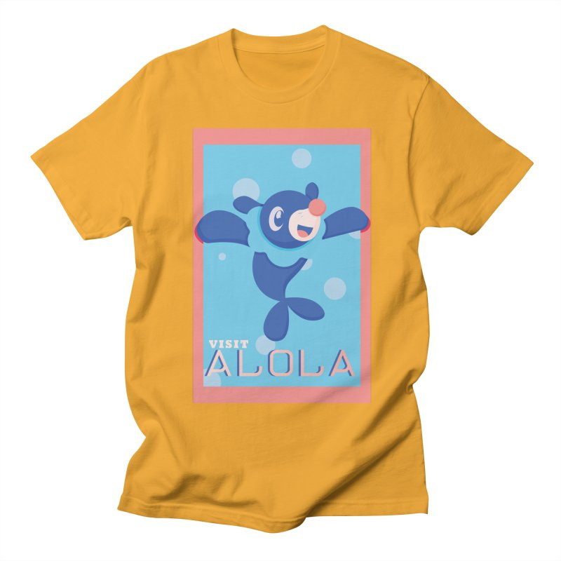 Visit Alola with Popplio ! Women's Unisex T-Shirt by jaredslyterdesign's Artist Shop