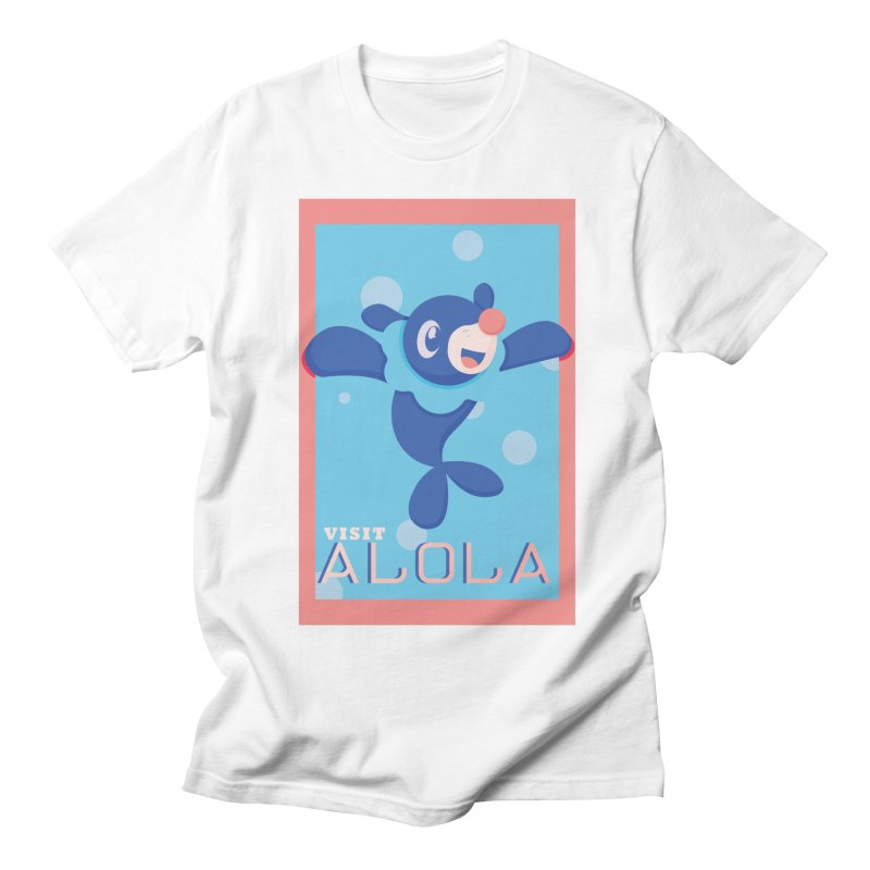 Visit Alola with Popplio ! Men's Regular T-Shirt by jaredslyterdesign's Artist Shop
