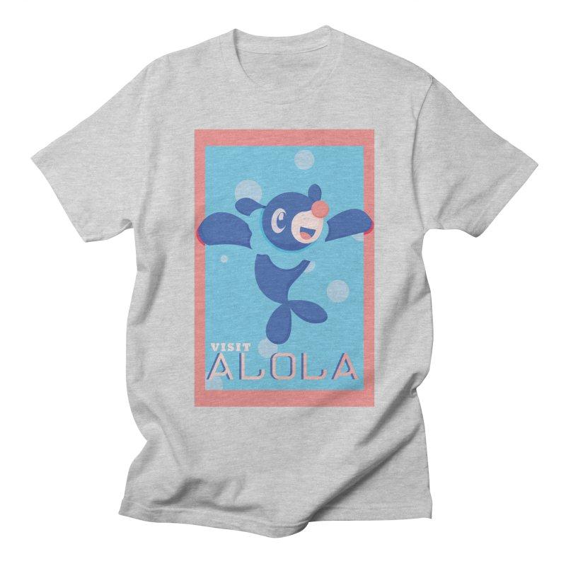 Visit Alola with Popplio ! Women's Regular Unisex T-Shirt by jaredslyterdesign's Artist Shop