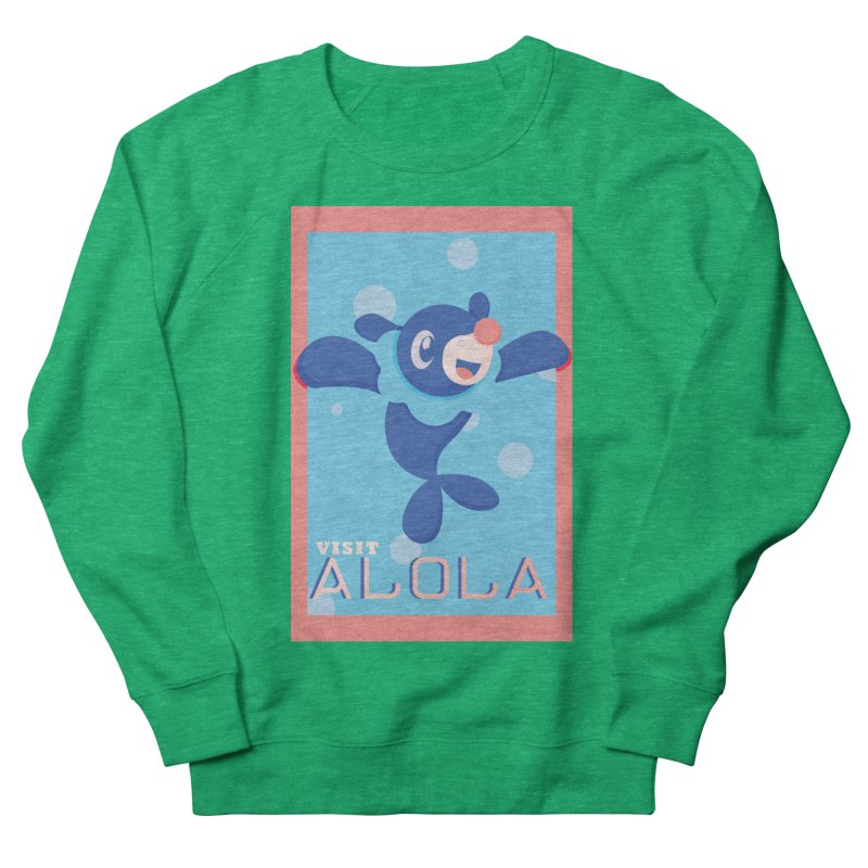 Visit Alola with Popplio ! Women's Sweatshirt by jaredslyterdesign's Artist Shop