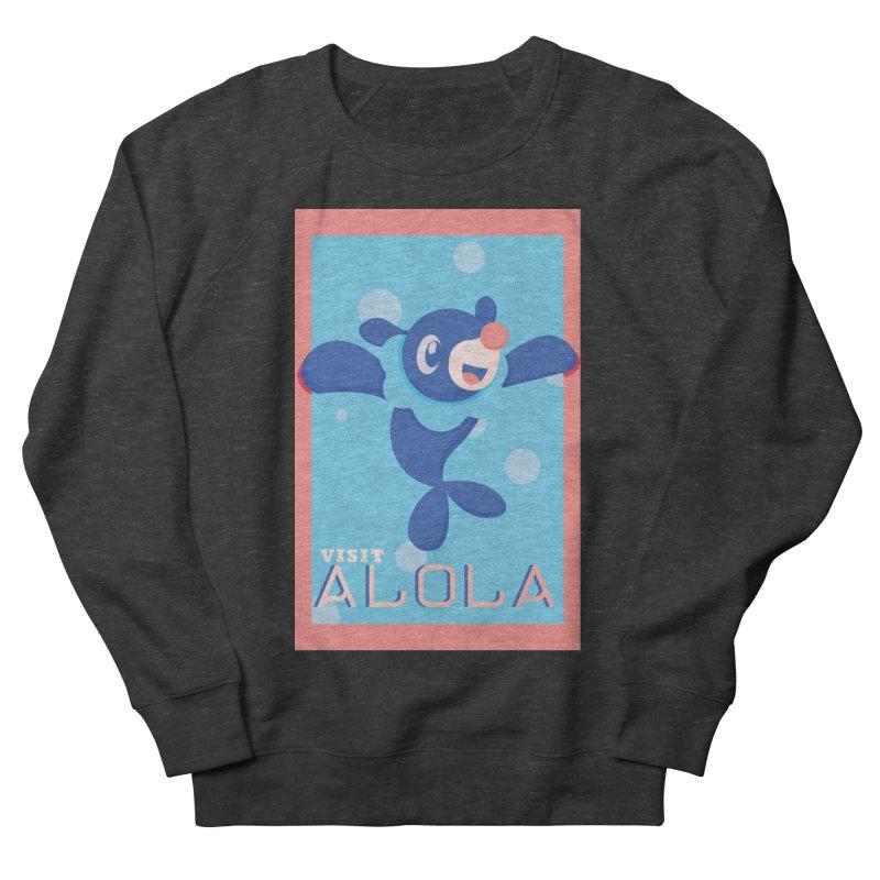 Visit Alola with Popplio ! Women's French Terry Sweatshirt by jaredslyterdesign's Artist Shop