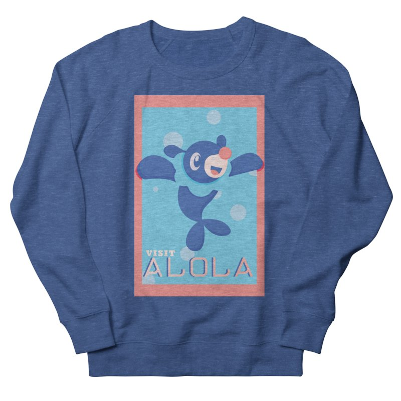 Visit Alola with Popplio ! Women's French Terry Sweatshirt by jaredslyterdesign's Artist Shop