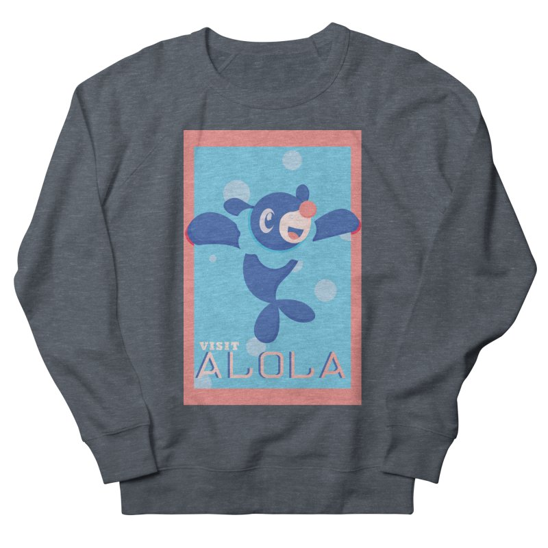 Visit Alola with Popplio ! Men's Sweatshirt by jaredslyterdesign's Artist Shop