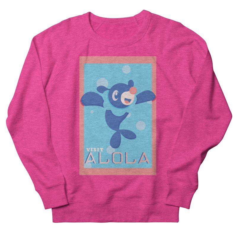 Visit Alola with Popplio ! Men's French Terry Sweatshirt by jaredslyterdesign's Artist Shop
