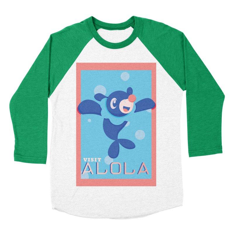 Visit Alola with Popplio ! Women's Baseball Triblend T-Shirt by jaredslyterdesign's Artist Shop