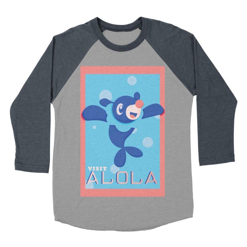 Visit Alola with Popplio ! Women's Baseball Triblend Longsleeve T-Shirt by jaredslyterdesign's Artist Shop