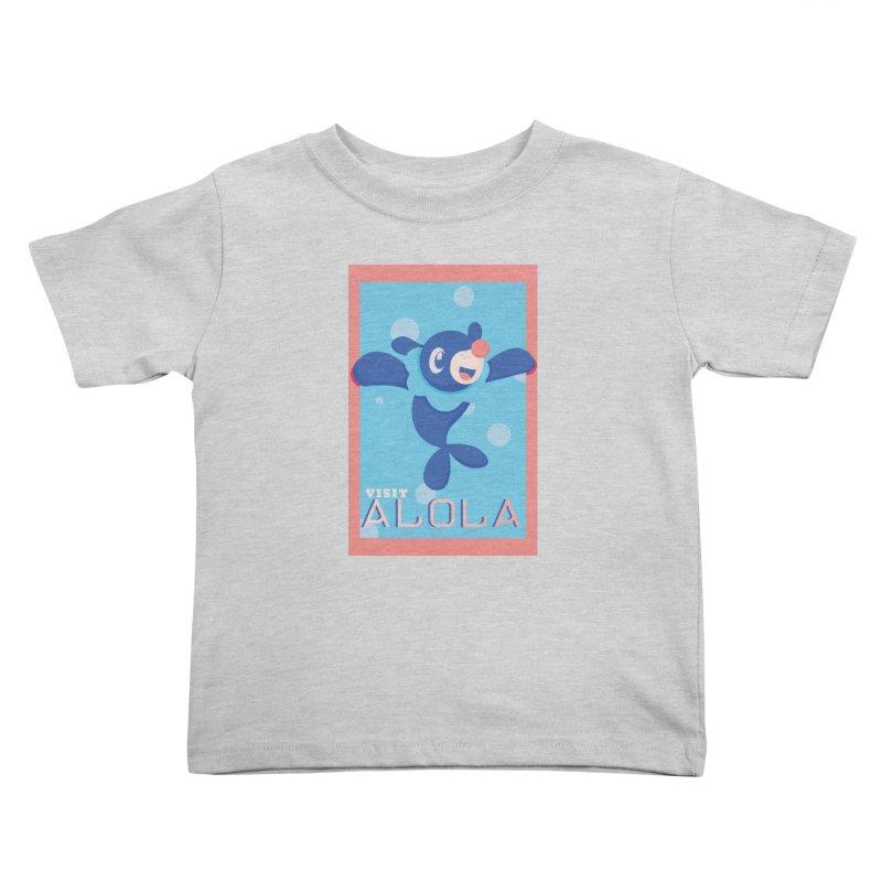 Visit Alola with Popplio ! Kids Toddler T-Shirt by jaredslyterdesign's Artist Shop