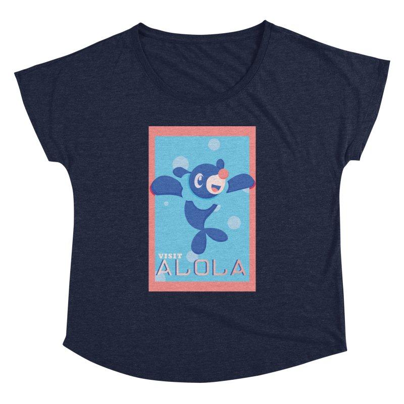 Visit Alola with Popplio ! Women's Dolman by jaredslyterdesign's Artist Shop