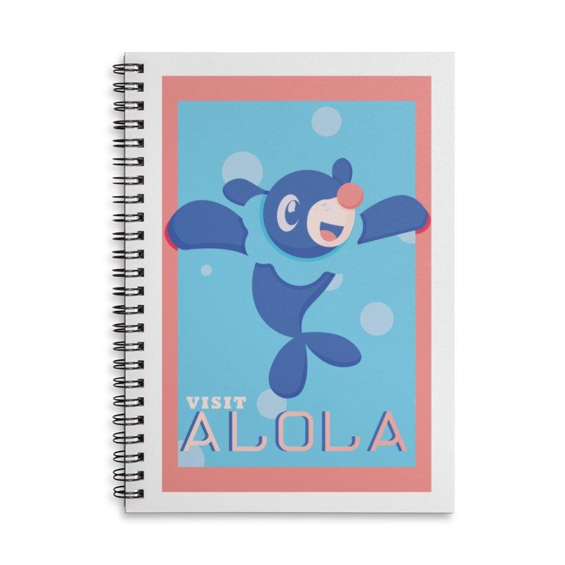 Visit Alola with Popplio ! Accessories Notebook by jaredslyterdesign's Artist Shop