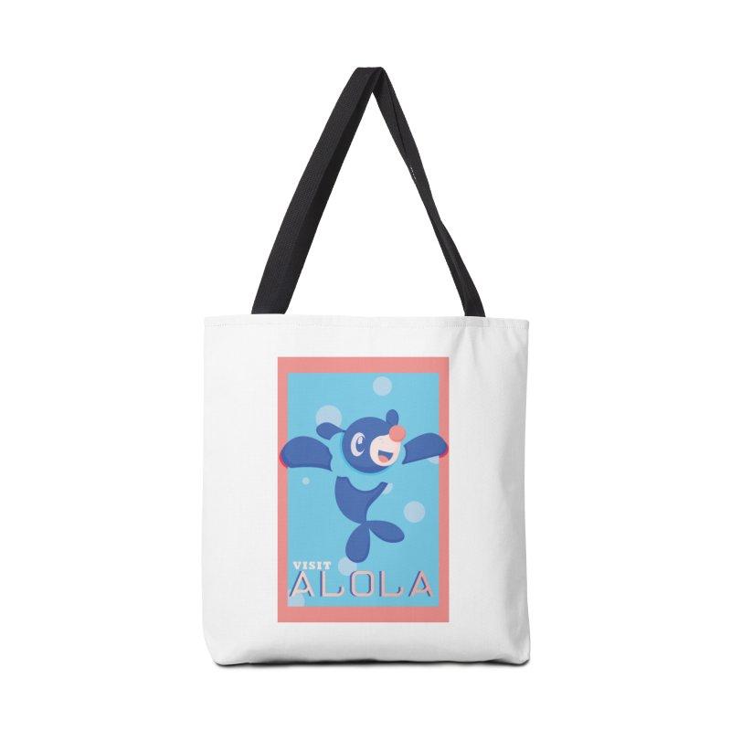 Visit Alola with Popplio ! Accessories Bag by jaredslyterdesign's Artist Shop