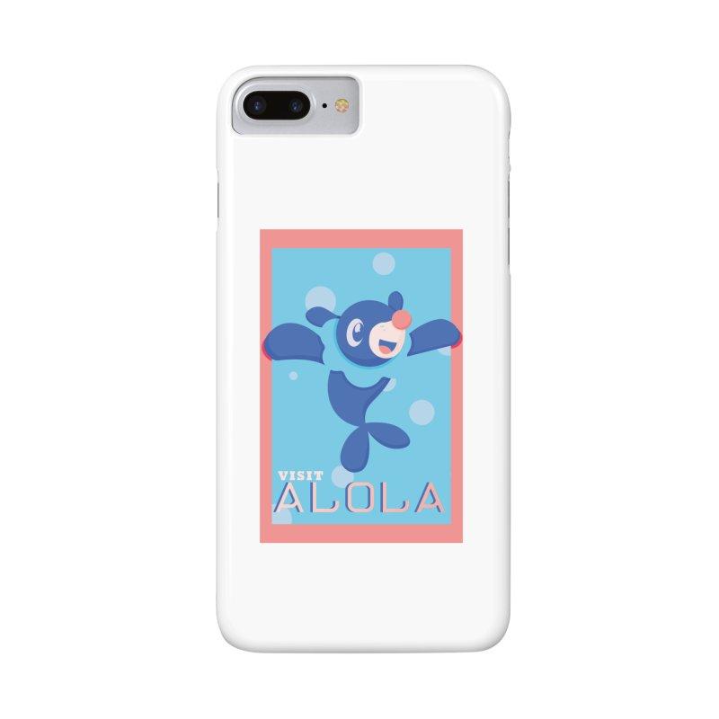 Visit Alola with Popplio ! Accessories Phone Case by jaredslyterdesign's Artist Shop