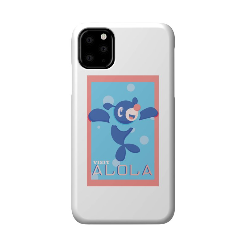 Visit Alola with Popplio ! Accessories Phone Case by jaredslyterdesign's Artist Shop
