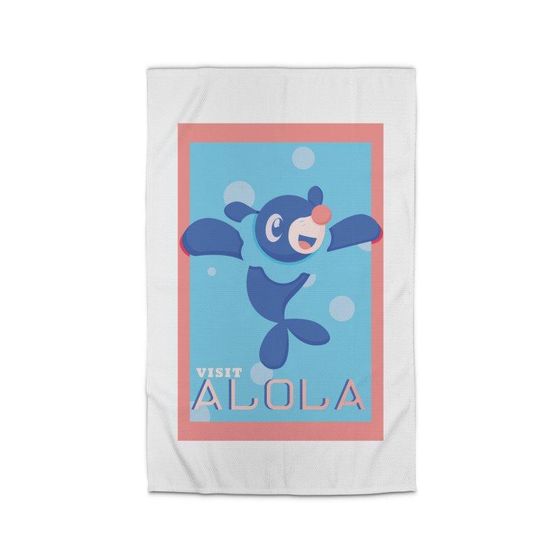 Visit Alola with Popplio ! Home Rug by jaredslyterdesign's Artist Shop
